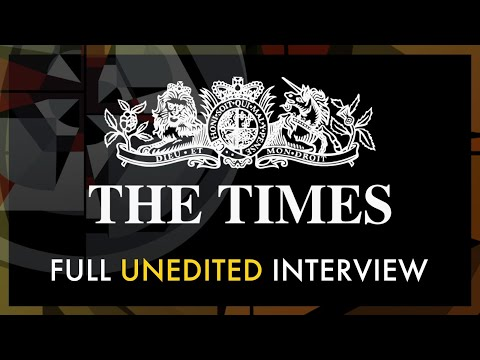 Unedited: Petersons' Times Interview