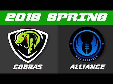 2018 TUFFHer Spring Season | Cobras vs Alliance