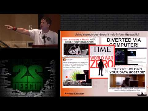 DEF CON 22 - Jayson E. Street - Around the world in 80 cons
