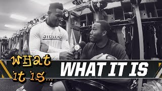 JuJu gets dad tips for JuJu Jr. | What It Is