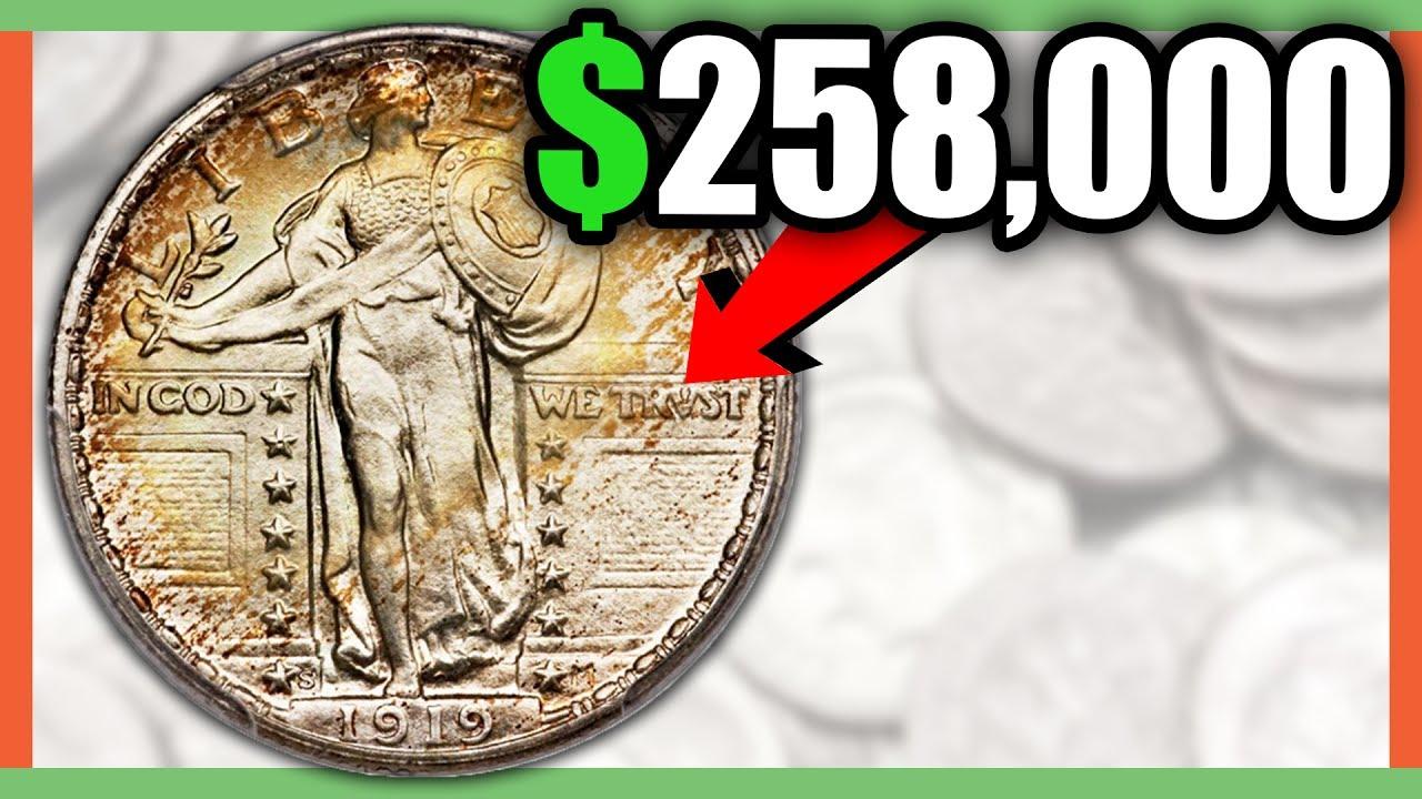 258 000 Rare Quarter Standing Liberty Quarters Worth Money