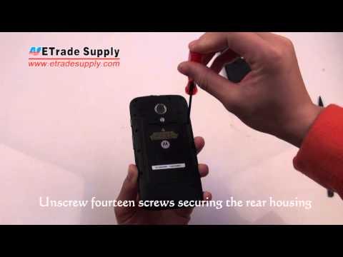 Motorola Moto G Disassembly/Tear Down/Cracked Screen Repair