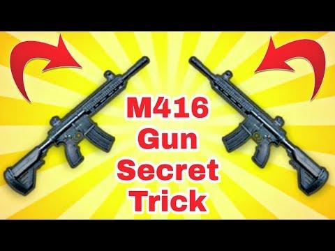 PUBG Mobile M416 Gun Secret Tricks | This Trick Make You a Legend PUBG Mobile Player
