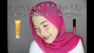 Tutorial Make Up ala Nissa Sabyan