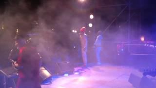 Jah Mason & Homegrown band live in Joyeuse - Wipe out Riddim.