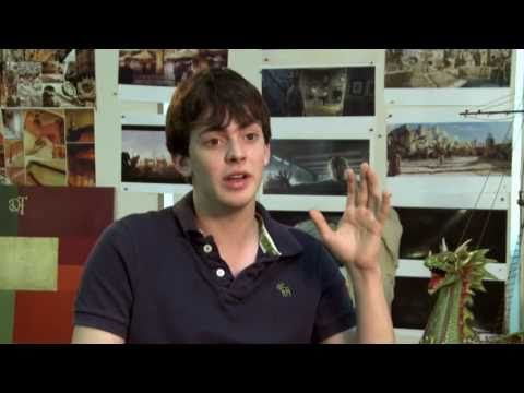Skandar Keynes  about shooting