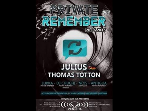 Venecia - Private Remember - 20 Junio 2015 @ Dj Antigua