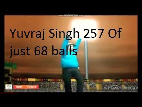 Yuvraj Singh 257 Of Just 68 Balls Vs Ireland Fastest 250 Even⚾⚾...