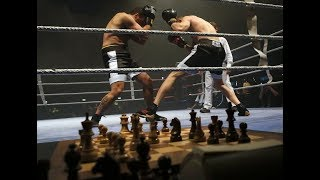 Le chessboxing, drôle de mélange entre boxe et échecs