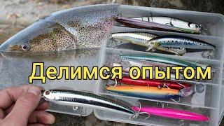 Делимся опытом Приманки на трофея Сахалинская рыбалка Sakhalin fishing