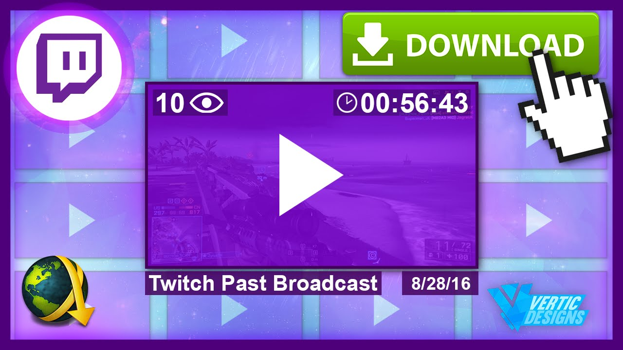 How To: Download Twitch Past Broadcasts With JDownloader (HD Vods)