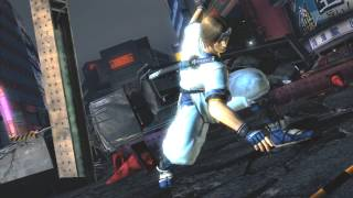 Dead or Alive 5 Power Blows & Cliffhanger Attacks HD