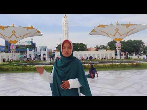 Baiturrahman great mosque promotion (halal tourism in Banda Aceh)