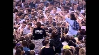 Johnny Hallyday - Entrée en scène Parc des Princes 1993