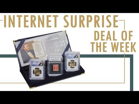 Internet Surprise Deal Of The Week: Ulysses S. Grant Presidential Golden Dollar Coin And Stamp Set