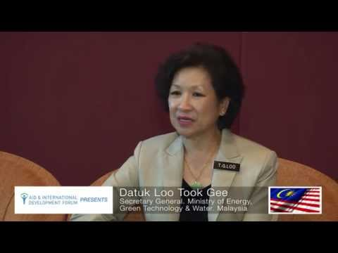 Datuk Loo Took Gee, Ministry of Energy, Green Technology & Water of Malaysia