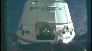 SpaceX/Dragon Arrives at the Space Station