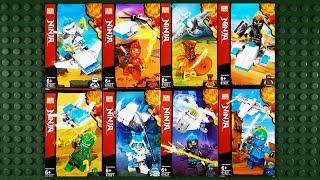 LEGO Ninjago Season 11 Minifigures (knock-off) PRCK 61021