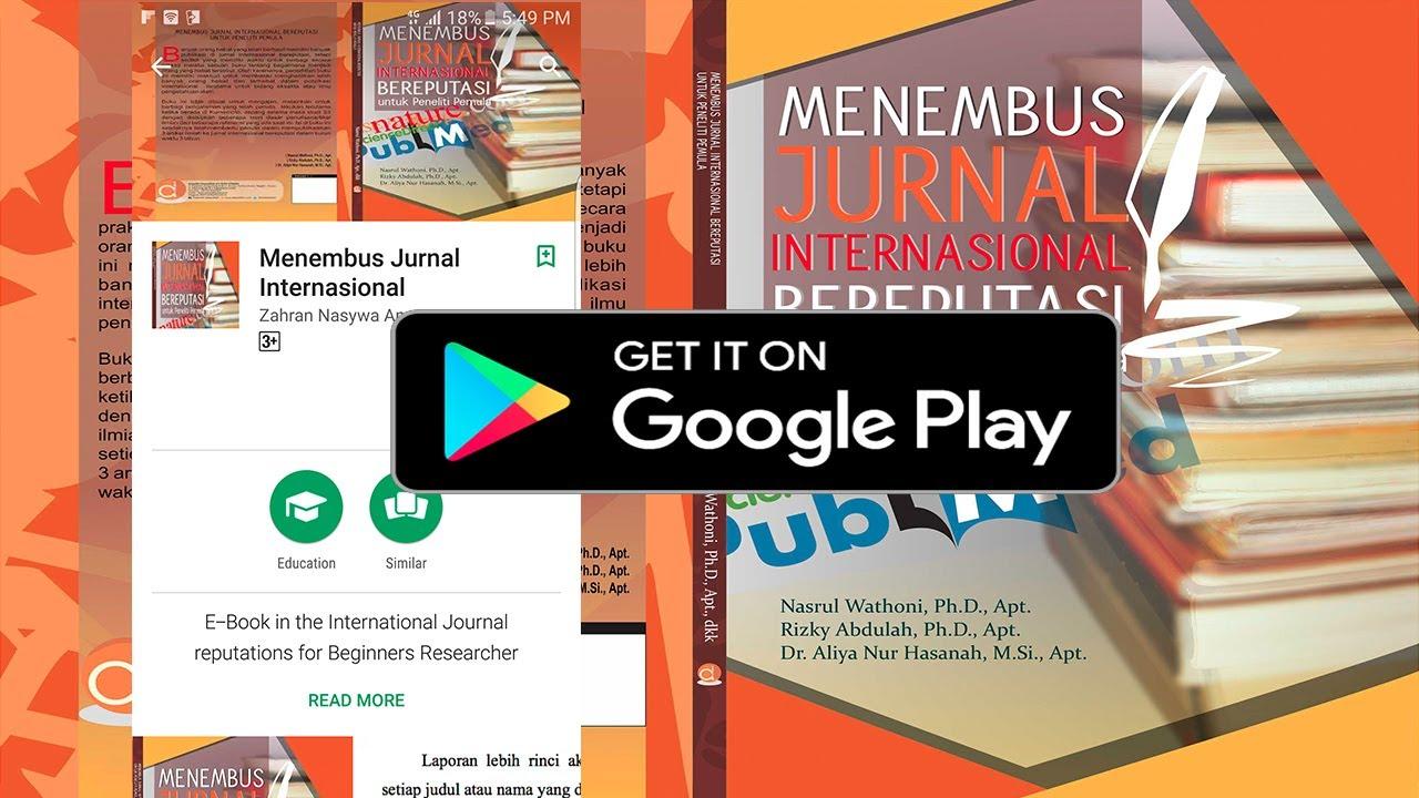 Buku Menembus Jurnal Internasional Bereputasi Untuk Peneliti Pemula Sudah Bisa Dipesan Catatan Harian Seorang Dosen Beasiswa Ilmiah Universitas Dan Hobi