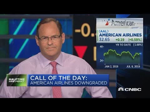 American Airlines Downgraded