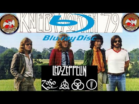 Led Zeppelin KNEBWORTH 79' HD Remastered Blu Ray 2018