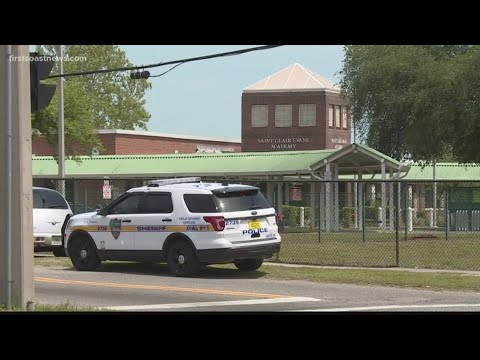 Bullet shatters window of classroom at Saint Clair Evans Academy in Moncrief