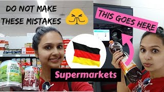 German Supermarkets: 4 Mistakes to avoid | Grocery shopping in Germany | Video Guide
