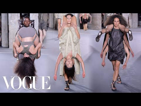 Why Rick Owens Spring 2016 Was the Best Show Ever | Vogue SICKO ShiT