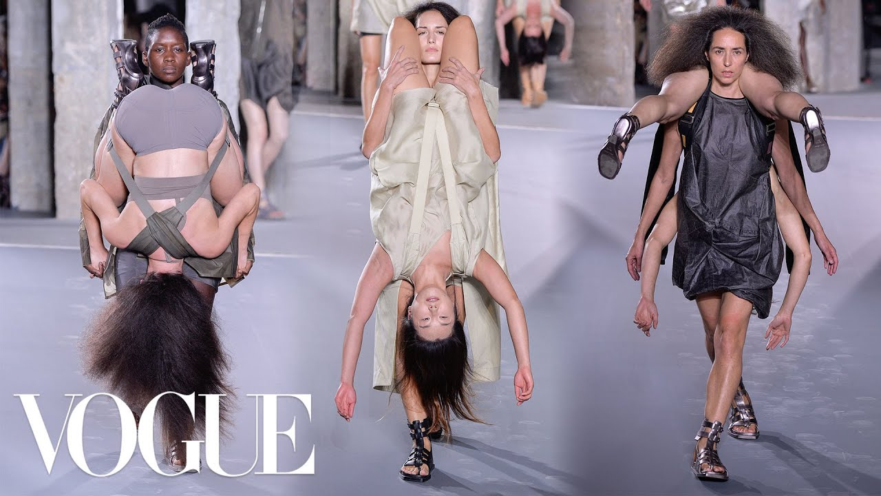 Why Rick Owens Spring 2016 Was the Best Show Ever