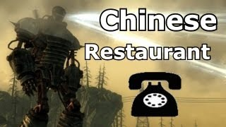 Liberty Prime Calls Chinese Restaurants - Prank Call Machinima