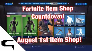 Gifting Skins!! FORTNITE ITEM SHOP COUNTDOWN August 1st item shop Fortnite battle royale
