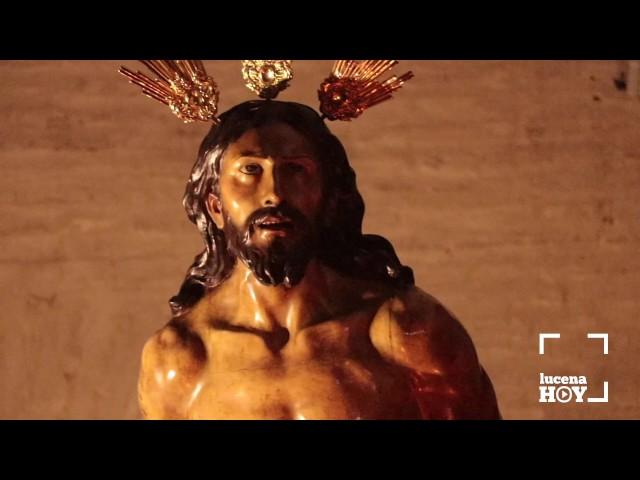 Cuaresma 2017: Reportaje sobre el Vía Crucis del Señor de la Columna en Santiago