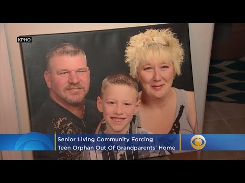 Mark - Senior community won't let 15 year old orphan stay with grandparents