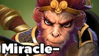 Miracle- Play Monkey King Carry Rank MMR Game