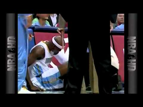 NBA Blazers Vs Nuggets Game Recap PreSeason 10/08/2010