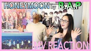 Video 'HONEYMOON' by B.A.P | MV REACTION | KPJAW download MP3, 3GP, MP4, WEBM, AVI, FLV Juni 2018