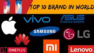 Top 10 Richest Smartphone Company In The World  By Saurabh Jaiswal