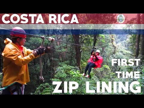 ZIP LINING IN THE COSTA RICAN JUNGLE!