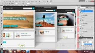 3d web page display photoshop action