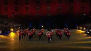 The Band of HM Coldstream Guard am Basel Tattoo 2009