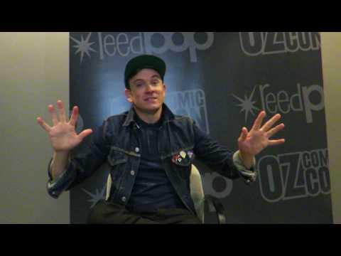 Tom Lenk talks Lenk Lewk For Less, fashion and Nerdgasm  Oz Comic Con Melbourne 2017