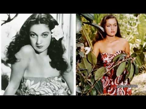 Hollywood Legend DOROTHY LAMOUR - The Epitome of Beauty and Glamour