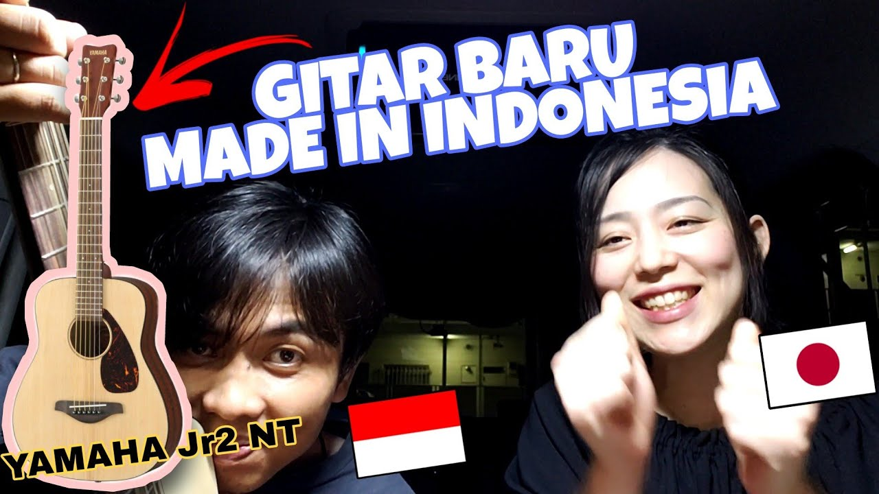 NEMU GITAR MADE IN INDONESIA LANGSUNG BELI LANGSUNG NYANYI BARENG ISTRI   Cewek Jepang Lucu