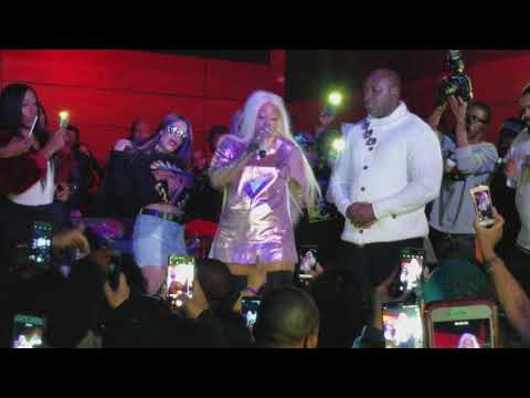 Trina live at Blissdc