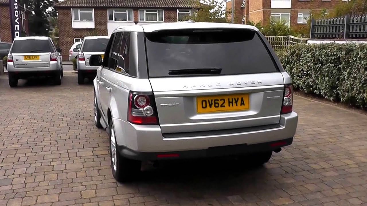 Beadles Indus Silver 2012 Land Rover Range Rover Sport HSE Luxury