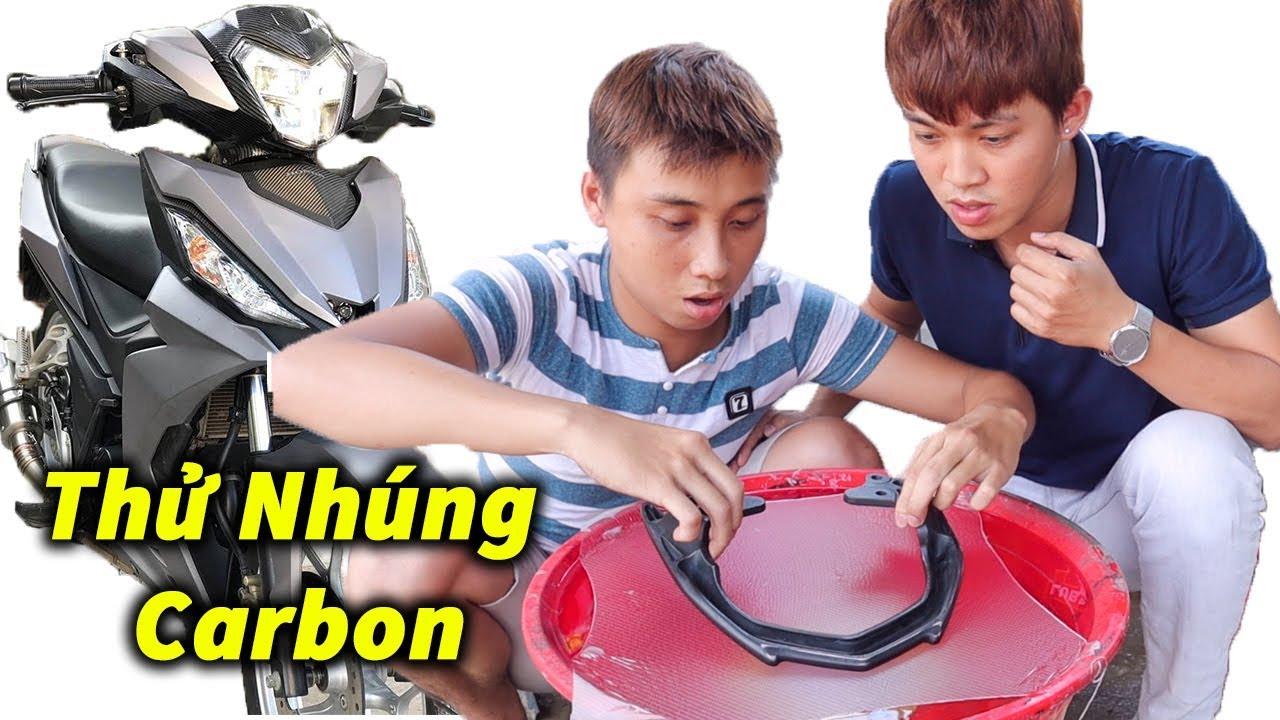 Thử Tự Nhúng Carbon Cho Winner 62zz Và Cái Kết