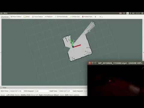 Neato XV-11 to ROS, SLAM – Tutorial – Janez Cimerman