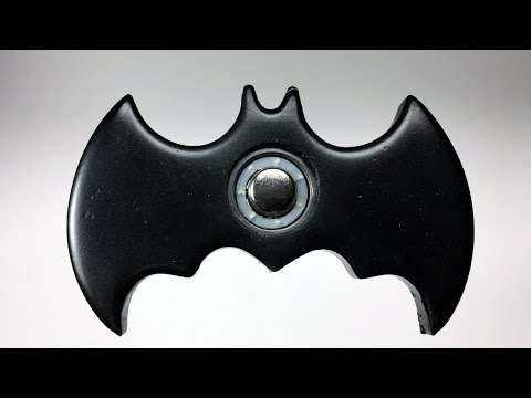 Thumbnail: Easy Batman Hand Spinner Fidget Toy