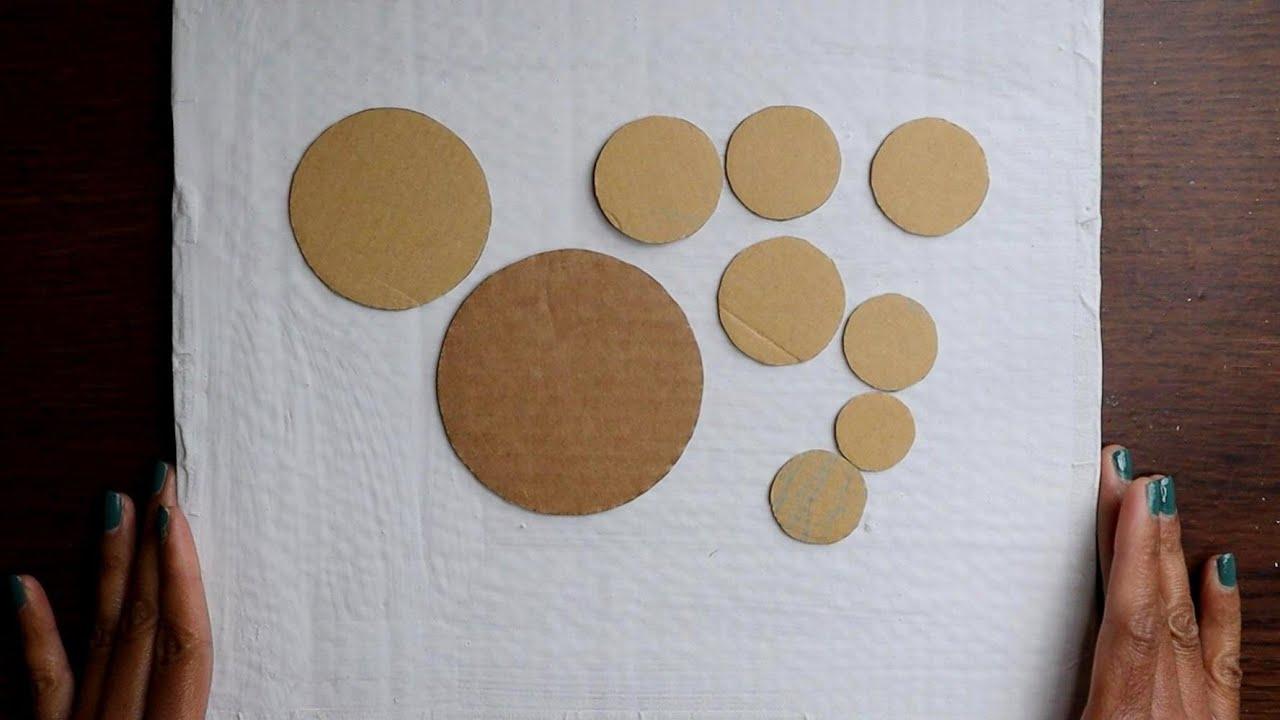 Cardboard wall decor series/ Cardboard craft/ CreativeCat/Art and craft