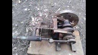 Паровой двигатель своими руками! // Steam engine!
